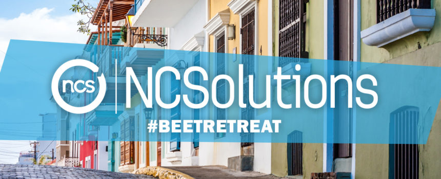 street image of San Jaun with NCSolutions #BEETRETREAT text