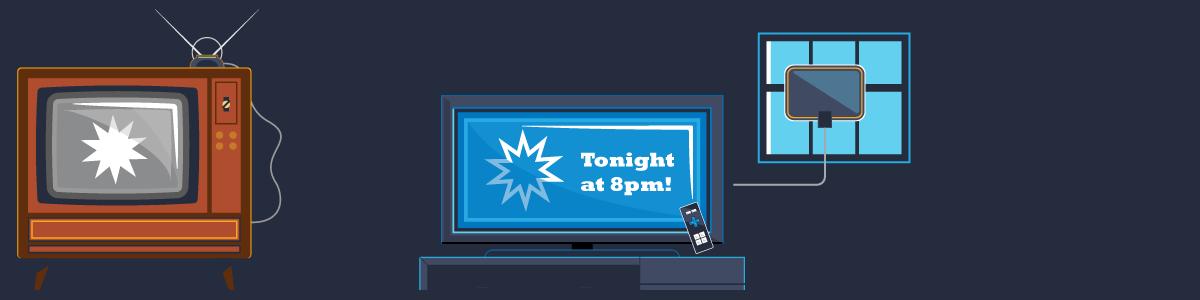 Linear TV illustrations